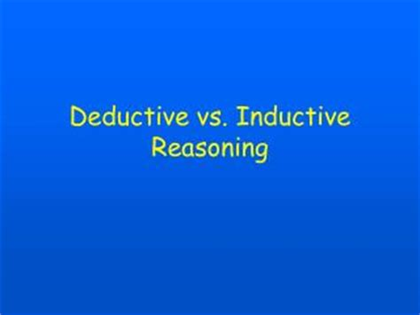 Compare and Contrast Inductive and Deductive Research